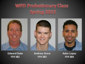 2015 (Spring) Probationary Recruit Class