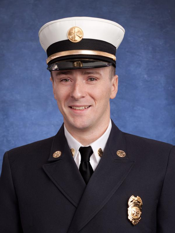 First Assistant Chief Andrew Vorndran