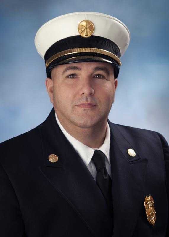Second Assistant Chief Brian Smith