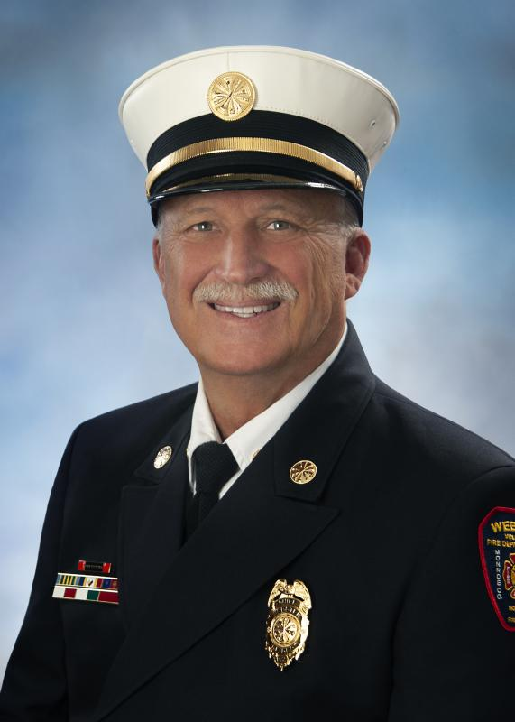 Fire Chief Robert Boutillier