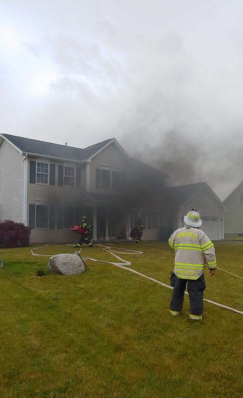 Heavy Smoke From Residential Structure